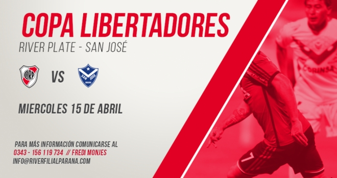 River vs San Jose (Bolivia)