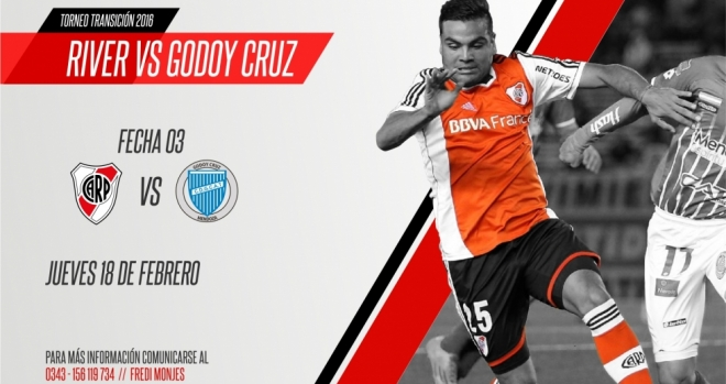 River vs Godoy Cruz